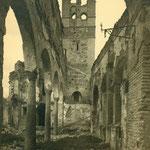 Campanario de la iglesia de la Magdalena.