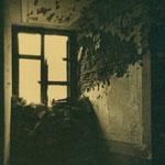 Parapeto interior en una ventana del Alcázar.