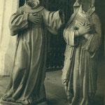 Imágenes de Santos decapitadas.
