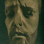 Cara de un Cristo desfigurada (Convento de las Concepcionistas).