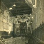 Nave central del Convento de San Clemente.