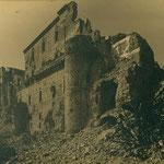 Aspecto de la muralla exterior del Alcázar.