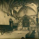 Nave principal de la iglesia del Convento de la Concepción Francisca.