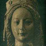 Cabeza de una santa decapitada (Convento de las Concepcionistas).