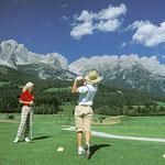 Golf im Wilden Kaiser