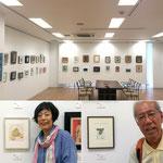 紀美江さん、木場さんの作品