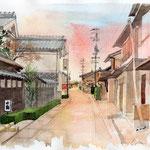 長良川鵜飼ミュージアム辺りの町並み