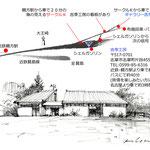 吉季工房・地図 map of Kiki Kobo