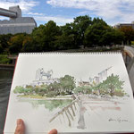 15 minutues sketch, nagoya congress center