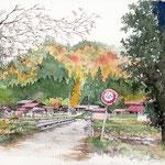 山の暮らし-秋
