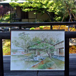 清羽亭、白鳥庭園