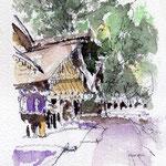 Atsuta Shrine in the early moring