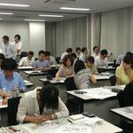 ミサワ・スケッチパース・セミナー風景 2014/7/24