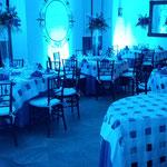 dj para boda en Casa de las Campanas iluminación de montaje