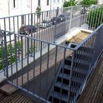 escalier/rampe/garde-corps