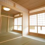 今では珍しくなった真壁を取り入れた和室