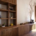 オーダー家具のテレビ台
