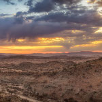 sunrise etambura kaokoveld namibia