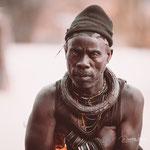 himba chief epupa falls, faces of namibia