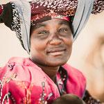 herero women kaokovled, faces of namibia