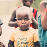 himba child epupa falls, faces of namibia