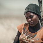 himba women red drum kaokoveld, faces of namibia