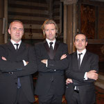 con Eric Whitacre e Michele Josia
