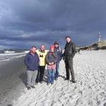 Arbeitstreffen in Stralsund, Deutschland 2010. von li. nach re.:Rüdiger Banditt, Dr. Felix Weber, Mag. Katharina Zoufal, Dr. Ronald Waller, Dr. Christoph Langner