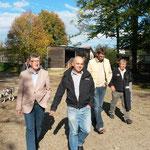 Herbsttagung 2013 in Stadl-Paura. von li nach re.: Dr. Edi Fellinger, Dr. Peter Zechner, Karl Schardax, Alois Gangl