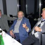 Arbeitstreffen in Herberstein 2011. von li nach re.: Dr. Edi Fellinger, Prof. Altmann, Prof. Pechlaner
