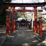 船形麻賀多神社の鳥居