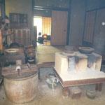 旧河原家の台所と土間