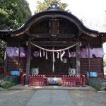 船形麻賀多神社の本殿