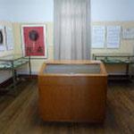 記念館内部の展示物