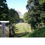 Ⅰ郭から見た東山虎口