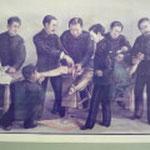明治初期の手術風景