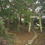 Ⅳ郭にある諏訪神社