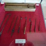 外科手術に使用した器具