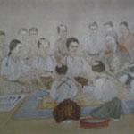 江戸時代の手術風景想像図