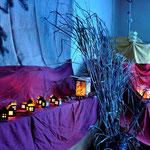 Basar 2013, In der Kerzenzieherei