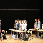 """Klassenspiel """"Die Welle"""", 12. Klasse, 2013"""