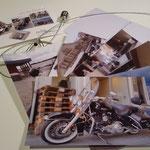 PostCard-Set mit Fotoleine