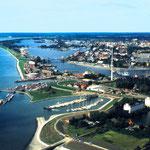 Luftbild von Wilhelmshaven
