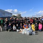 1月26日 三島南高校とのコラボレーション清掃開始!