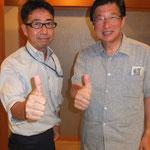 川勝平太知事と会食