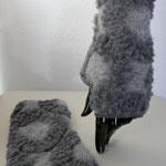 Nr. 10 Pulswärmer -  Wolle, Cotton , mit Daumen, mit Wolle, --- 25.-€