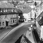 Ecke Rathausstraße / Töpferstraße, Anfang der 60er Jahre