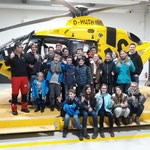 Besichtigung Rettungshelikopter