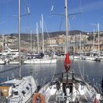 Genua in Italien > von hier geht die Fähre nach Tanger
