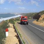 Marokko > immer an der Küste entlang
